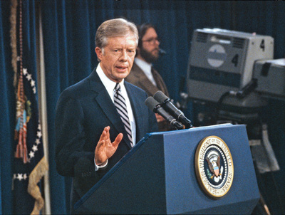 """I personally don't believe that the Federal Government ought to finance abortions."" — Former US president Jimmy Carter"